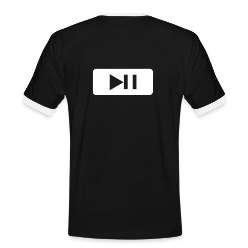 Zik - T-shirt contrasté Homme