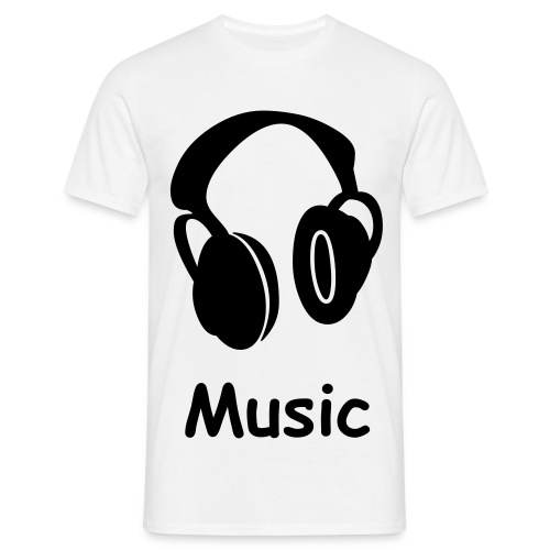 music or death - T-shirt Homme
