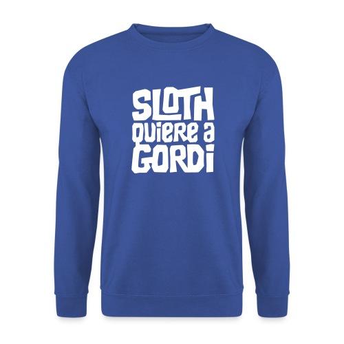 Sloth quiere a Gordi - Sudadera hombre