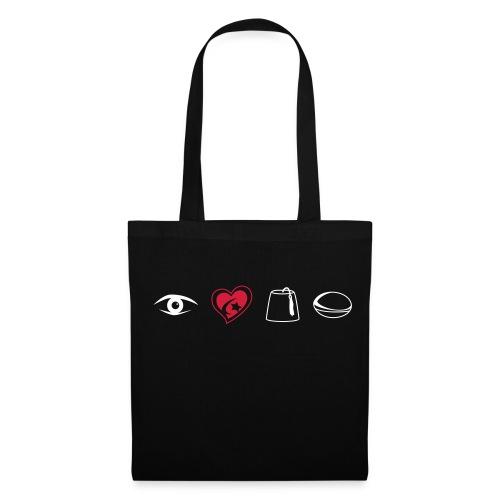 Eye Heart Saracens Tote Bag - Tote Bag