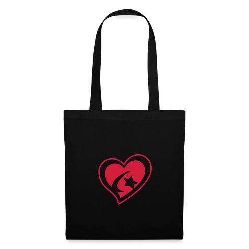 Red Heart Tote Bag - Tote Bag