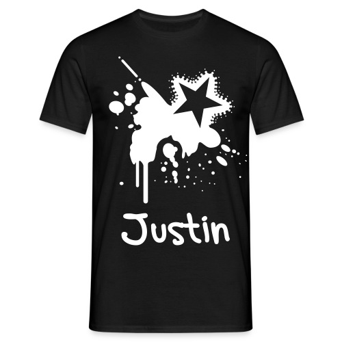 Justin((Custom Made)) - Men's T-Shirt