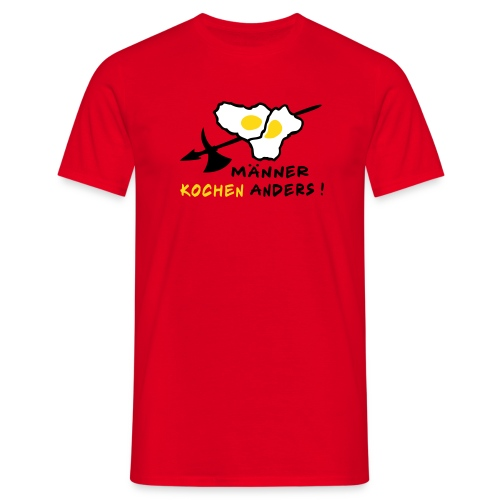 Spiegelei - Männer T-Shirt