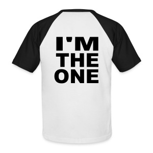 tee-shirt  i'm the one  - T-shirt baseball manches courtes Homme