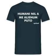 T-Shirts ~ Men's T-Shirt ~ Nothing human is alien to me