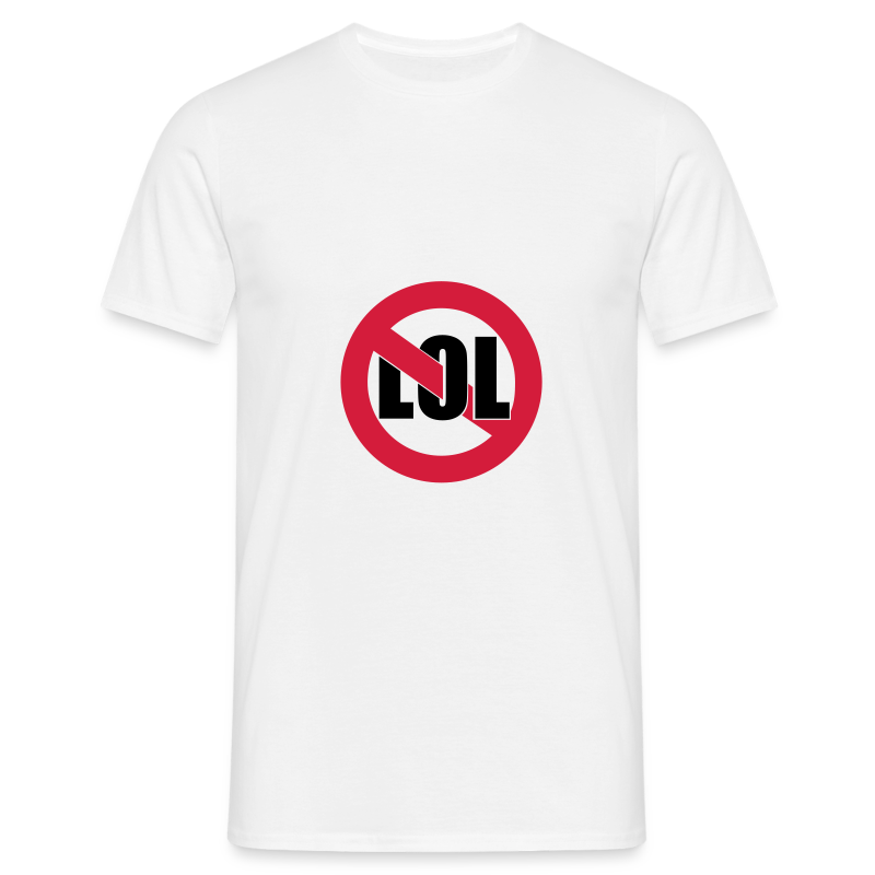 No LOL - Men's T-Shirt