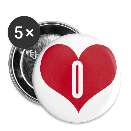 BADGE LOVE O.... - Badge moyen 32 mm