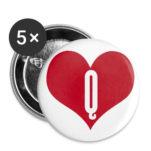 BADGE LOVE Q.... - Badge moyen 32 mm