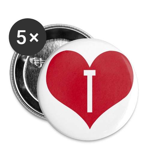 BADGE LOVE S.... - Badge moyen 32 mm