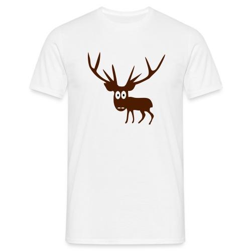 Grøvdalshjort - T-skjorte for menn