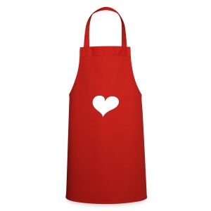 Red Heart  Aprons - Cooking Apron