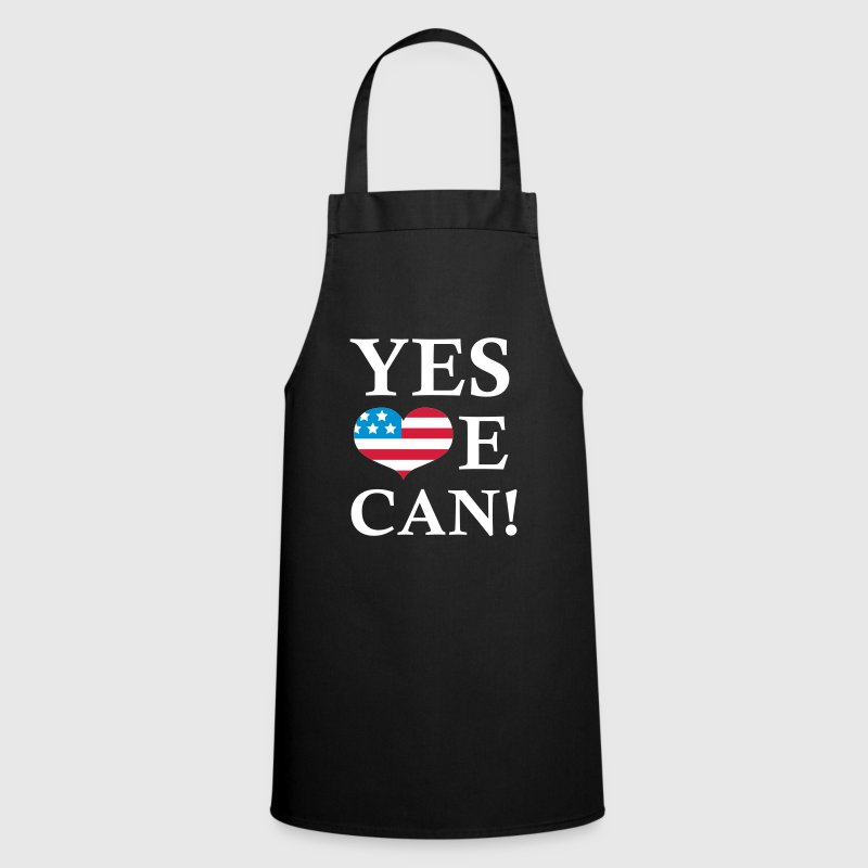 Noir Yes We Can!  Tabliers - Tablier de cuisine