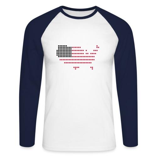 you see me - Men's Long Sleeve Baseball T-Shirt