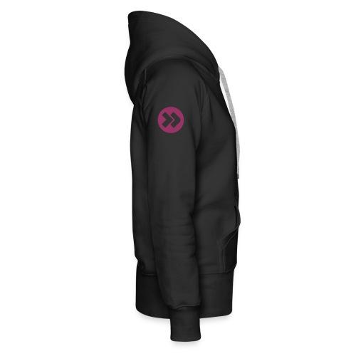 x-love-hurts-x by n'4li3n - Sweat-shirt à capuche Premium pour femmes