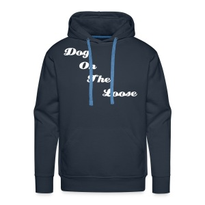 Men's Hooded Blue D.O.T.L Sweatshirt - Men's Premium Hoodie