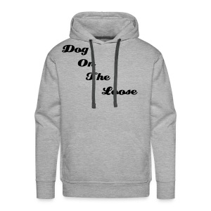 Men's Hooded Grey & Black D.O.T.L Sweatshirt - Men's Premium Hoodie
