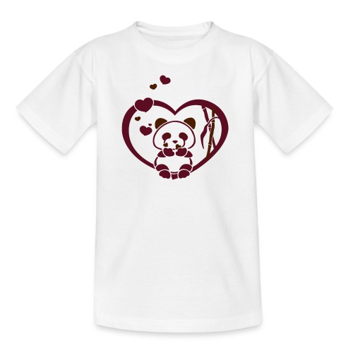 YENDA panda - Teenager T-shirt
