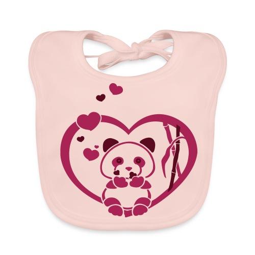 YENDA panda - Bio-slabbetje voor baby's