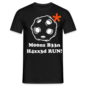 Moon Hack - Men's T-Shirt