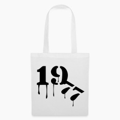 White 1977_birthday_year Bags