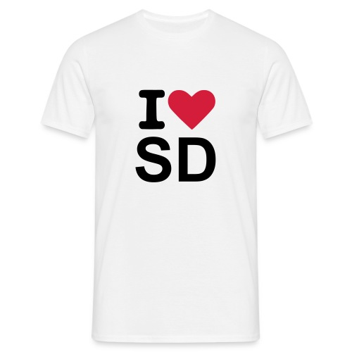 I L SD - Men's T-Shirt