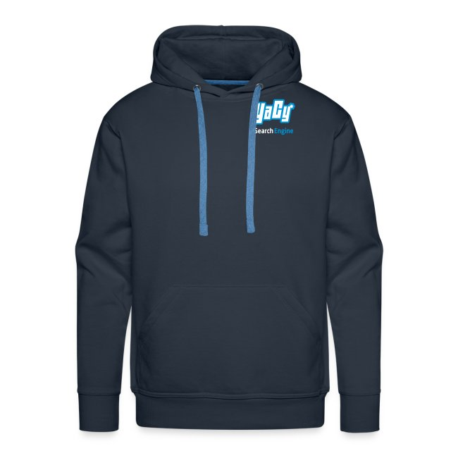YaCy Logo Hoodie Blue