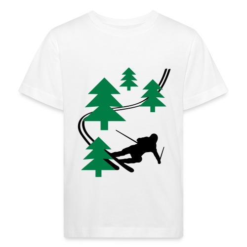 Lasten T-paita - Lasten luonnonmukainen t-paita