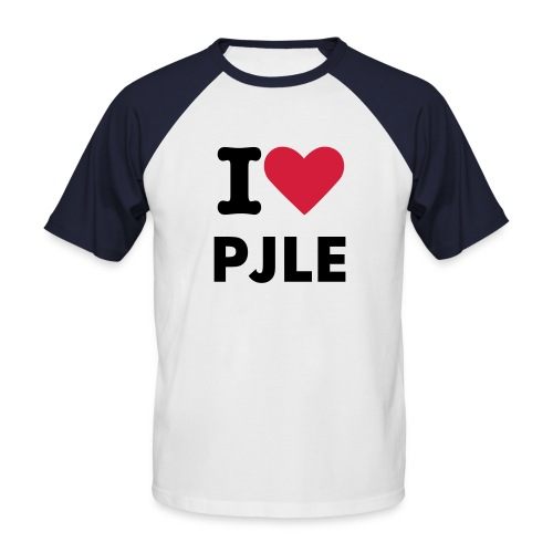 I heart PJLE.......don't you? - Men's Baseball T-Shirt