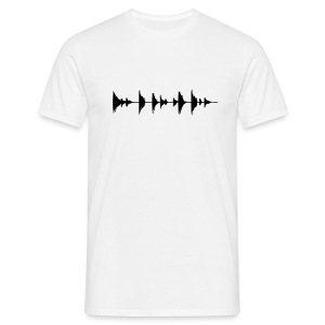 Audio Waves - Men's T-Shirt
