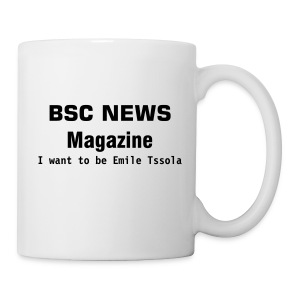 COFFEE MUG BSC NEWS - Tasse