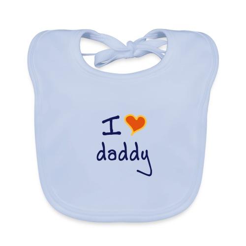 Bavoirs j'aime papa - Bavoir bio Bébé