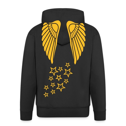 Star Angel - Men's Premium Hooded Jacket