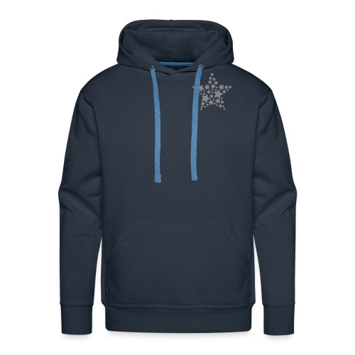 Glitter small star hoodie - Men's Premium Hoodie
