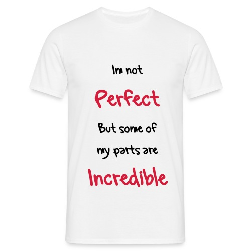 Incredible - Men's T-Shirt