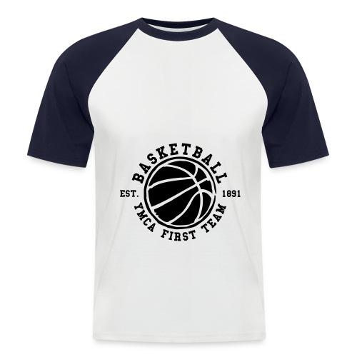 LIGNE-MALA'KO2F-UNIT - T-shirt baseball manches courtes Homme