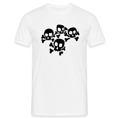 Skulls - T-skjorte for menn
