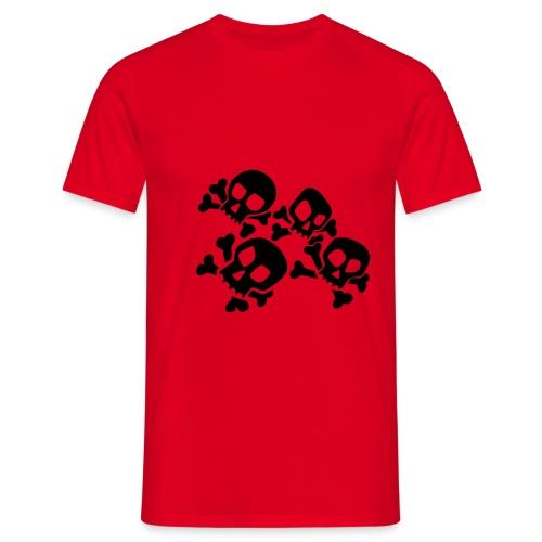 Skulls2 - T-skjorte for menn