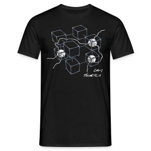 CM-1 Logo men's black/white - Men's T-Shirt