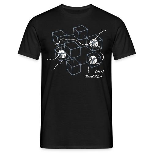 CM-1 Logo men's black/white - Men's T-Shirt