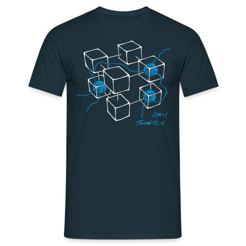 CM-1 Logo men's navy/blue - Men's T-Shirt