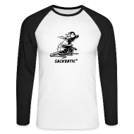 Langarmshirts ~ Männer Baseballshirt langarm ~ Männer-Longsleeve