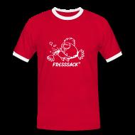T-Shirts ~ Männer Kontrast-T-Shirt ~ Männer-Shirt