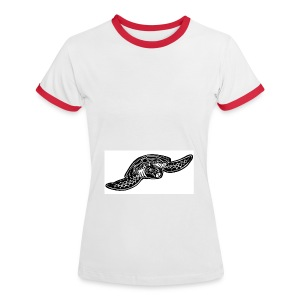 Indian simple - Frauen Kontrast-T-Shirt