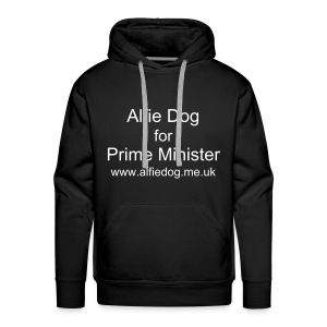 Alfie Dog for Prime Minister - Men's Premium Hoodie