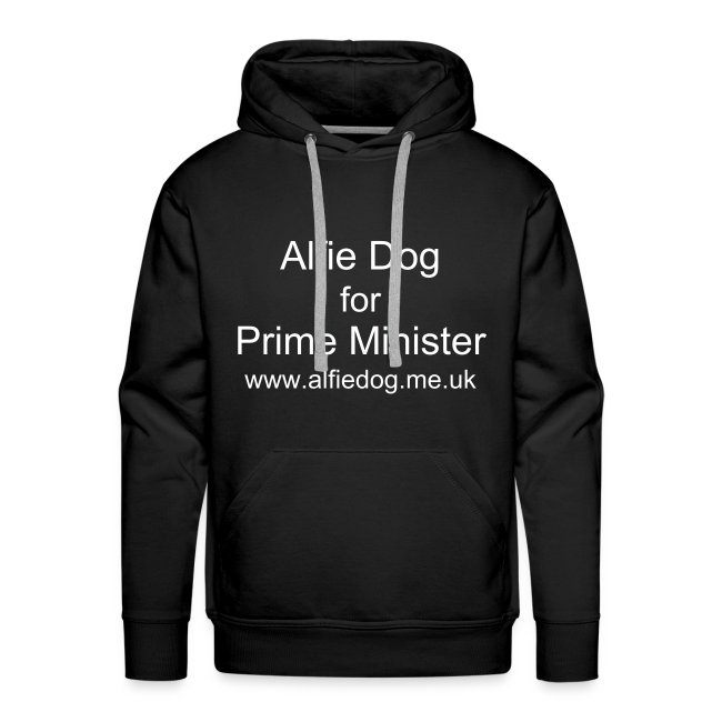 Alfie Dog for Prime Minister