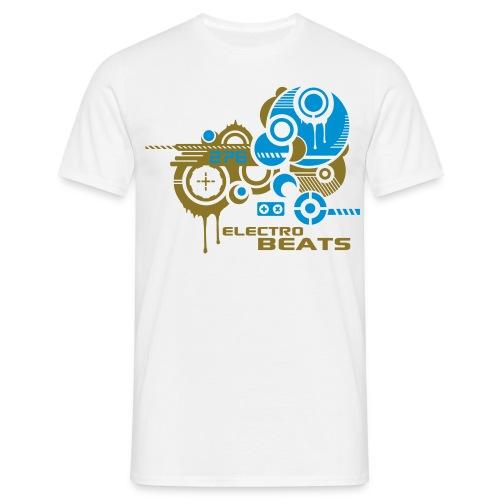 electro beats - Männer T-Shirt