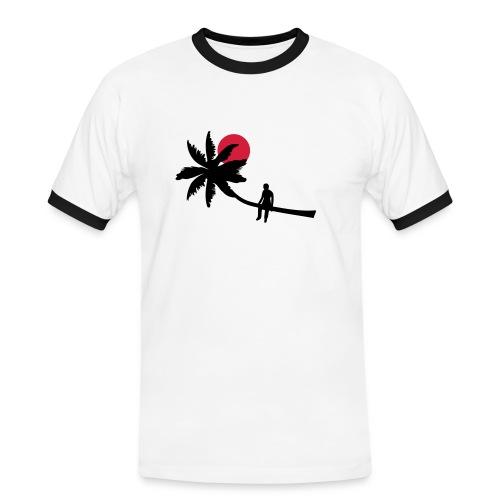 habit  - Men's Ringer Shirt