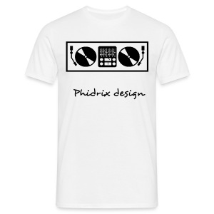 Platines + mixage 1 - T-shirt Homme