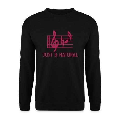 B natural - Men's Sweatshirt