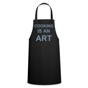 cooking is an art  - Tablier de cuisine